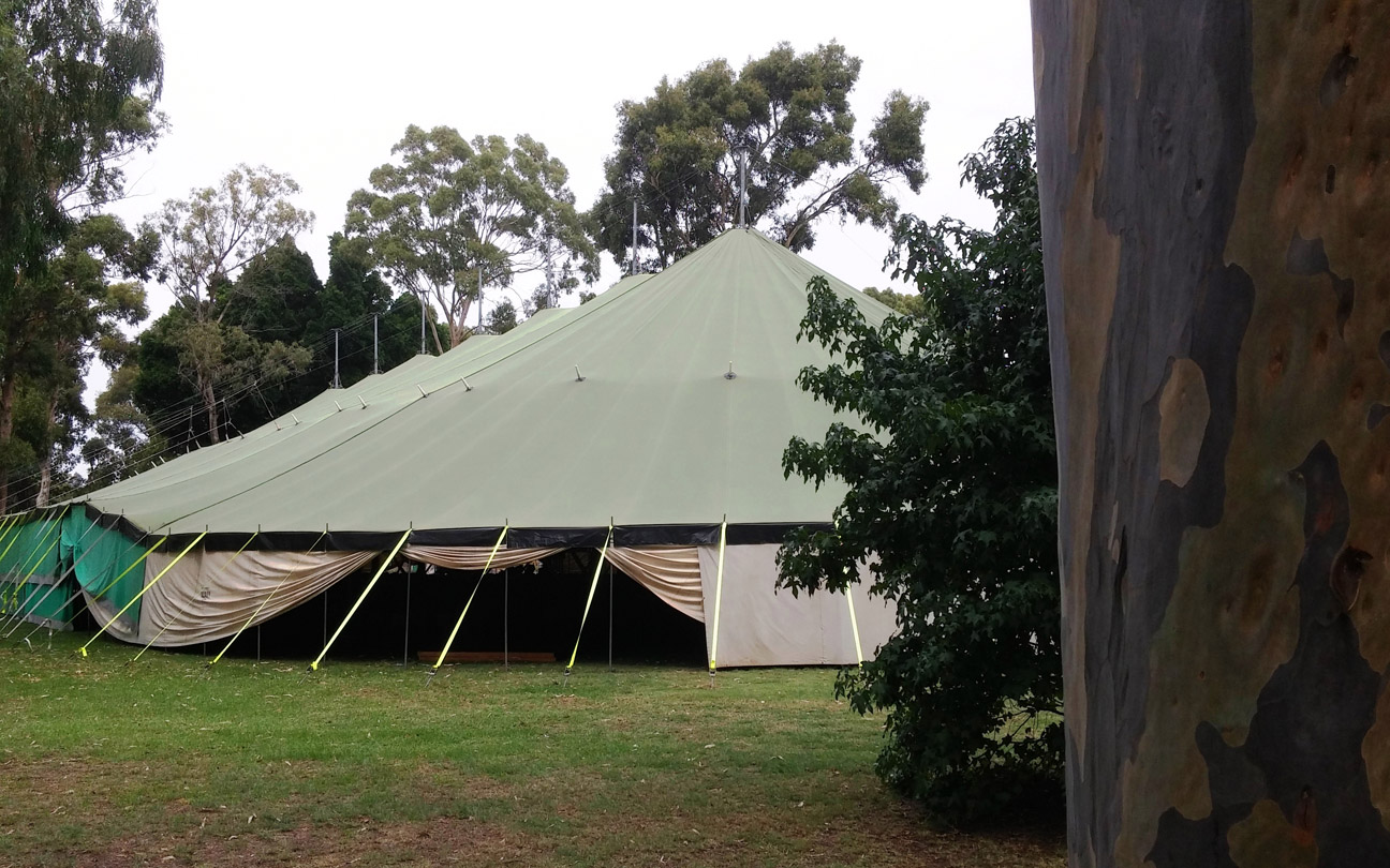 Temporary Event Structure Certification, Perth Hills