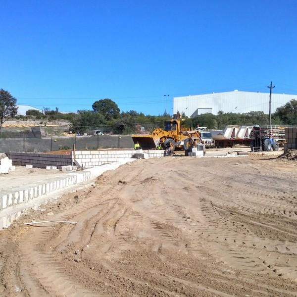 Earthworks and Limestone Retaining Wall Construction, Bibra Lake