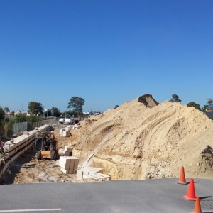 Inspection – Limestone Retaining Walls Installation – Bibra Lake