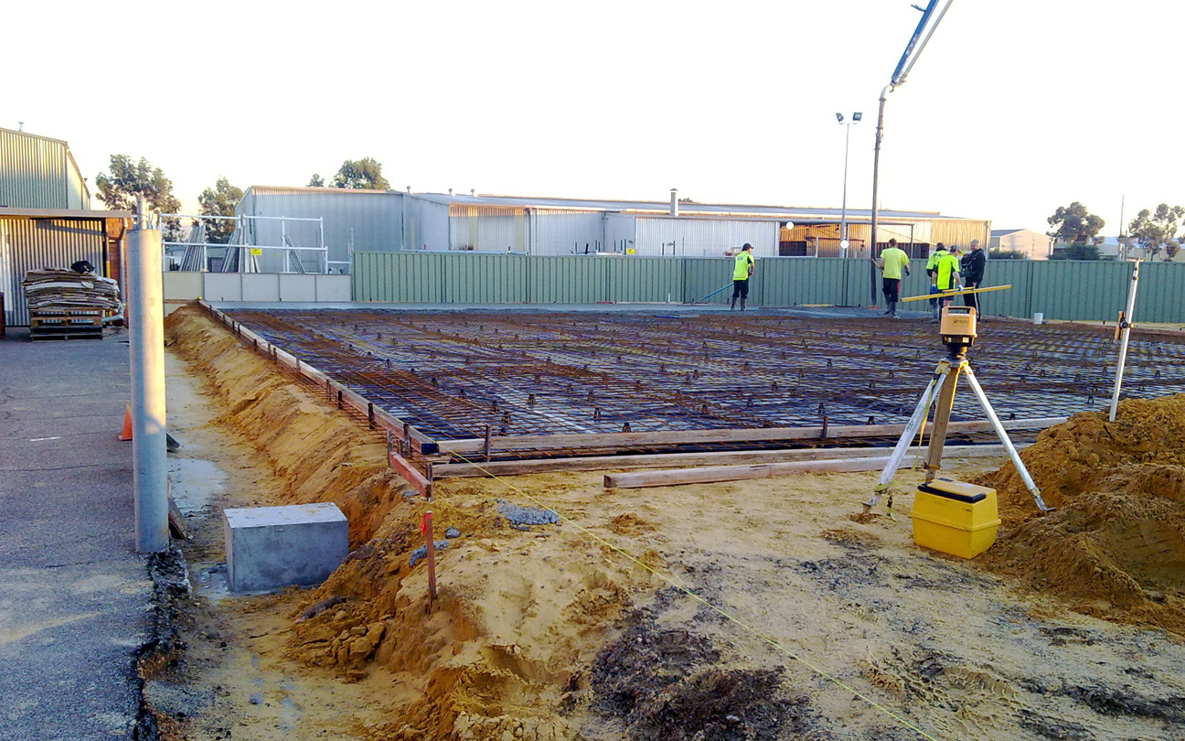 Ground Floor Slab Reinforcement Inspection, Perth WA