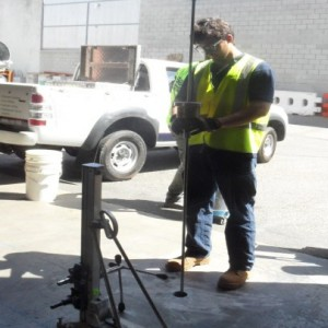 Concrete Slab Core Drilling and Soil Compaction Testing, Kewdale WA
