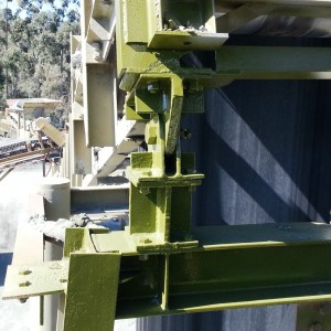 Conveyor rust repairs