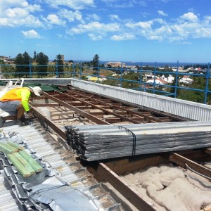 Dilapidated Roof Restoration and Cladding