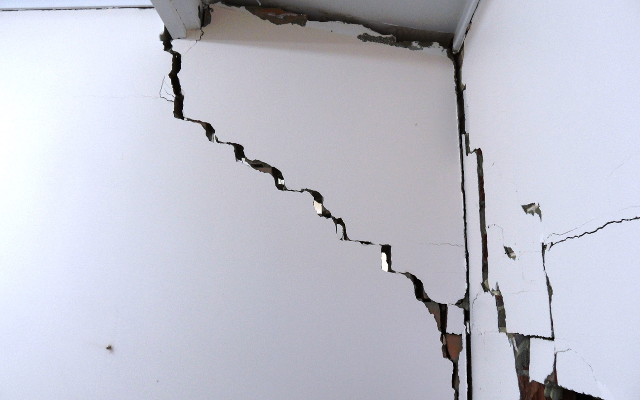 Inspection for Structural Repairs – Wall Damage after Accident