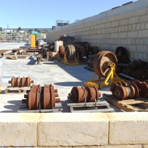 Completed Works – Industrial Limestone Retaining Wall – Bibra Lake